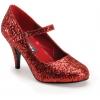 GLINDA-50 Red Glitter
